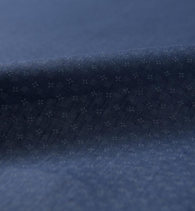 Slate Micro Print Linen