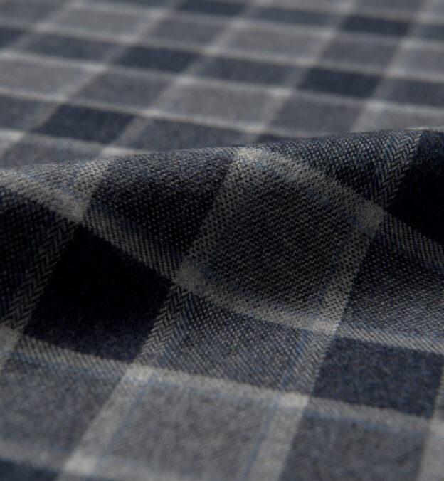 Canclini Slate Tonal Gingham Beacon Flannel