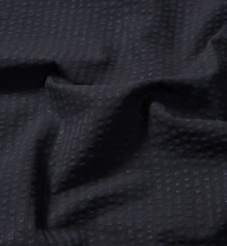 Portuguese Black Seersucker Shirts By Proper Cloth
