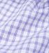 Thomas Mason Lavender Grid Shirt Thumbnail 2