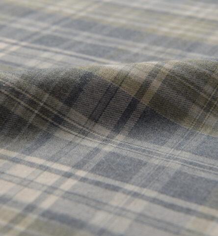 Satoyama Slate and Sage Plaid Flannel