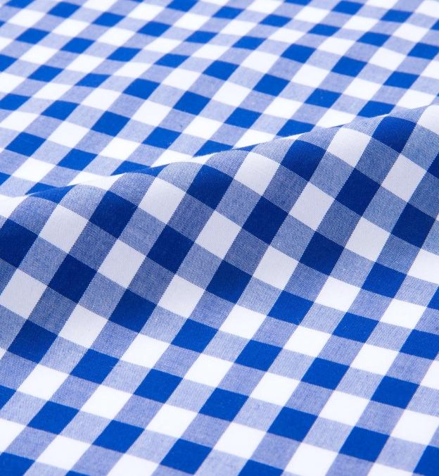 Royal Blue Large Gingham