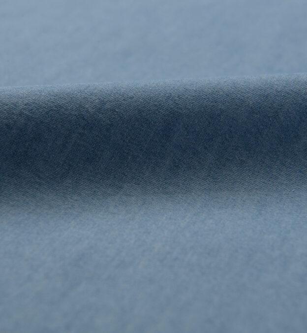 Cotton and Tencel Light Wash Denim