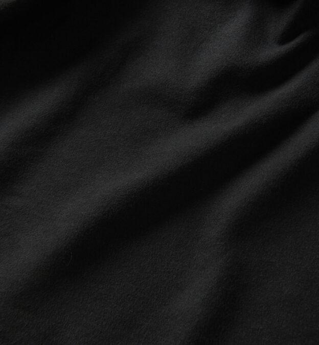 Albiate Washed Black Moleskin