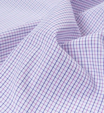 albini lavender tattersall shirts by proper cloth