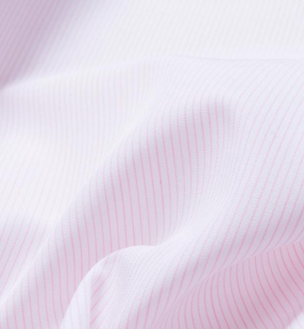 Carmine Pink Fine Stripe