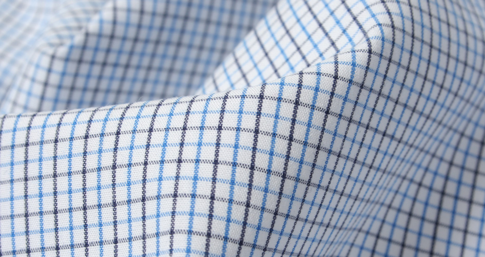 blue peached tattersall shirts by proper cloth