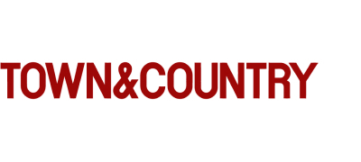 Press logo for TOWN & COUNTRY MAG