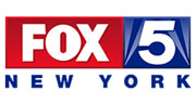 Press logo for Fox 5 NY