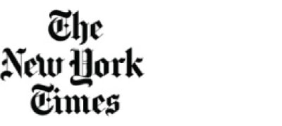Press logo for THE NEW YORK TIMES