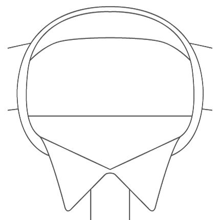 Wingtip Tuxedo Collar