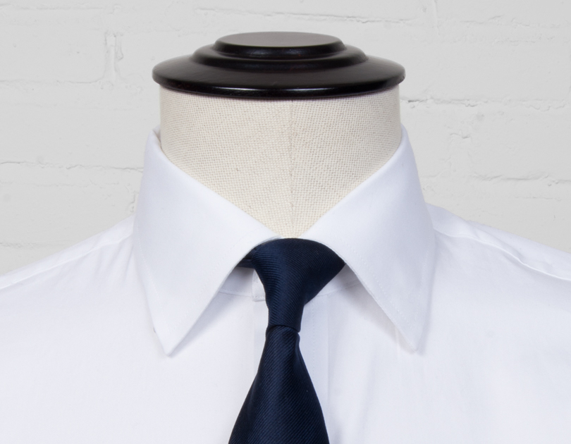 Image of Hidden Button Down Collar