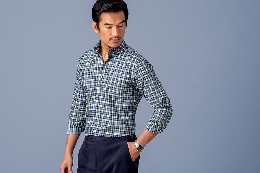 Thomas Mason Non-Iron Shirts