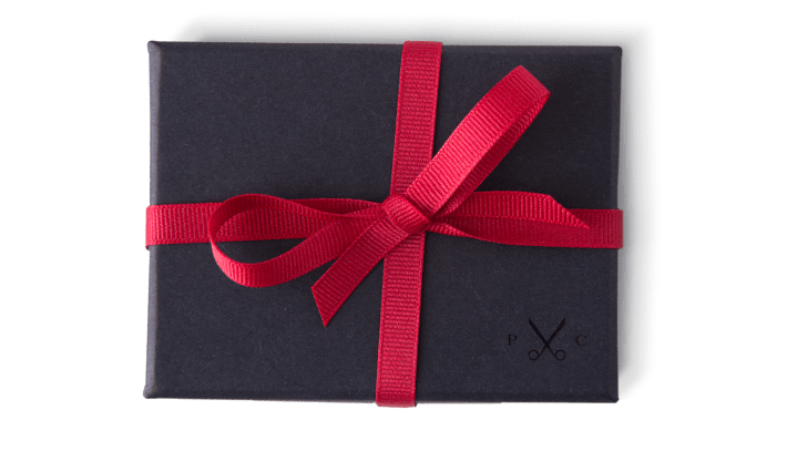 Proper Cloth Gift Certificate in Wrapped Box