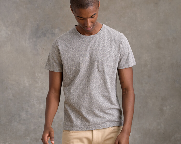 Slub Pocket T-Shirts