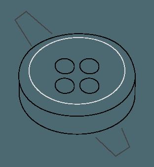 Slate Horn Buttons Diagram