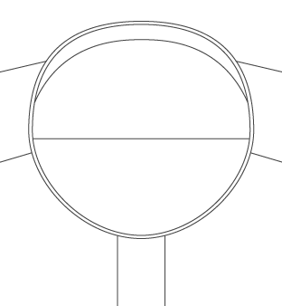 Grandad Collar Diagram