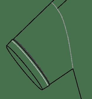 Short Sleeve Plain Diagram