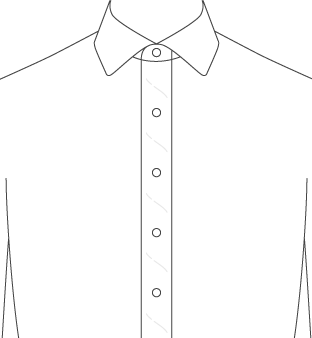 Soft Front Placket Diagram