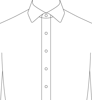 Stand Up Front Placket Diagram