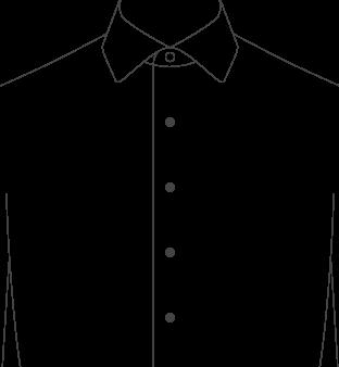 Tuxedo Front Plain Diagram