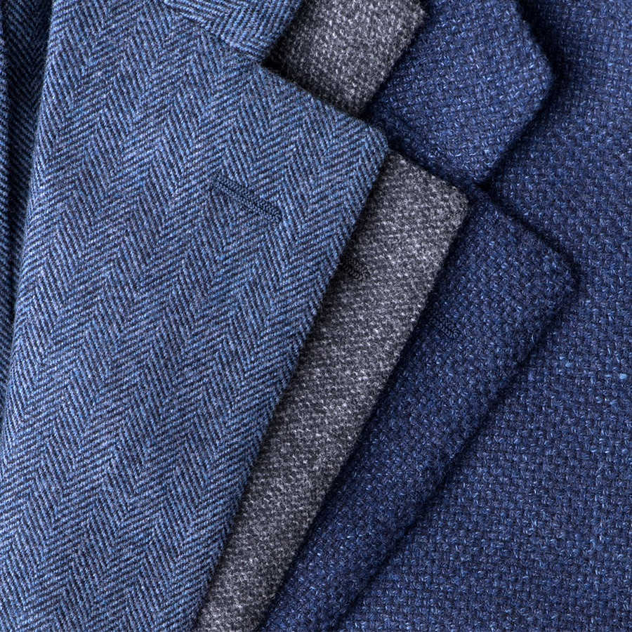 The Hudson Jacket · Unlined & Fully-Canvassed - Proper Cloth