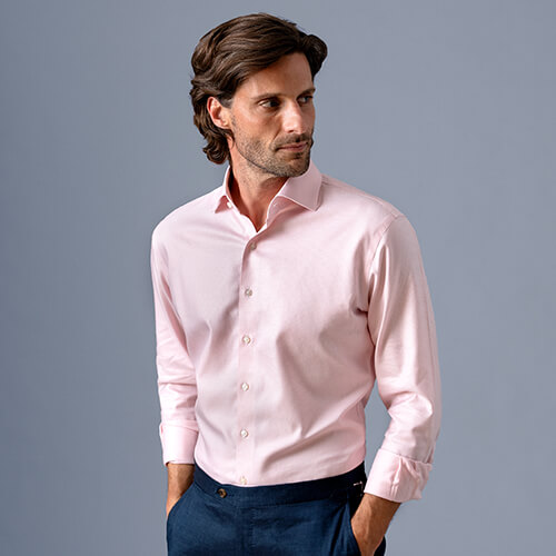 Perfect Fit in a Proper Cloth Non-Iron Shirt