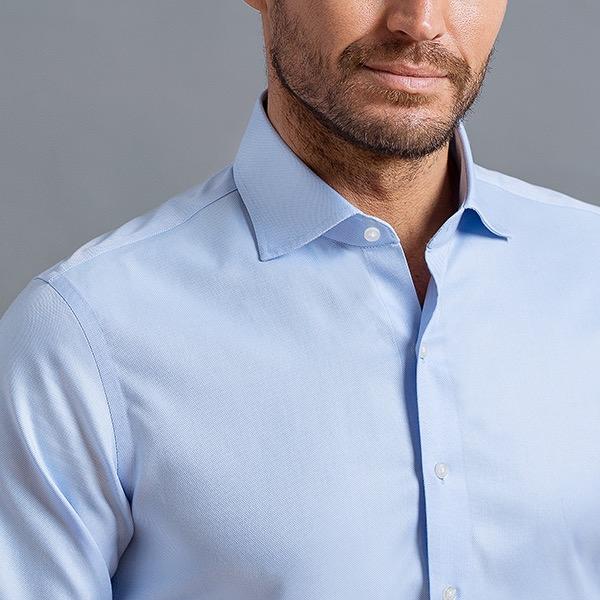 Exclusive Thomas Mason Non-Iron Shirts Lg