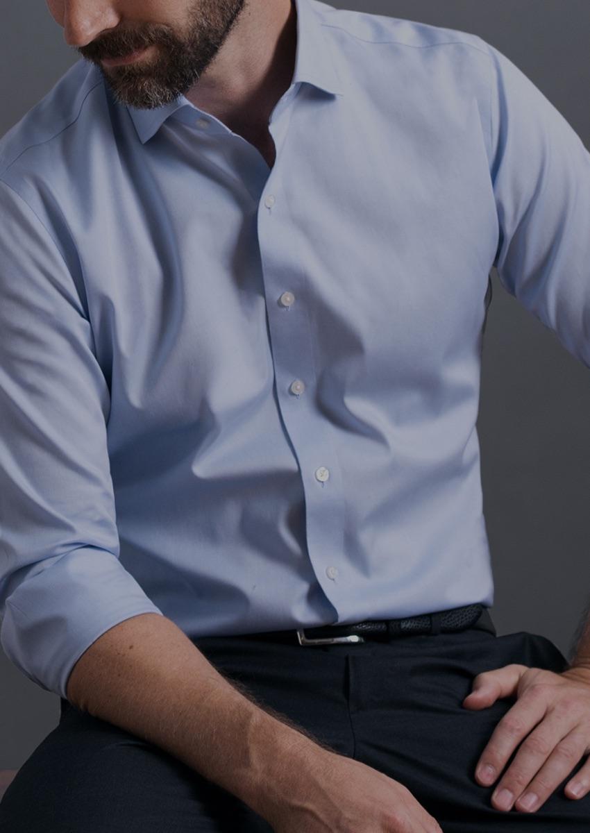 the custom non iron shirt wrinkle free performance proper cloth
