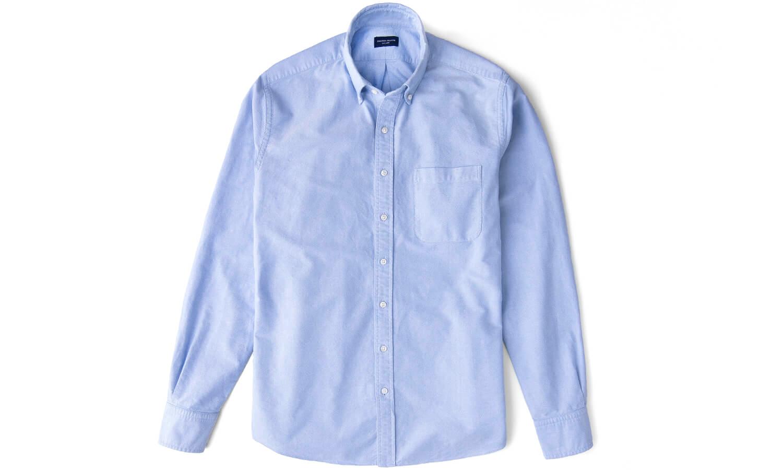 Oxford Cloth Button Down Shirt