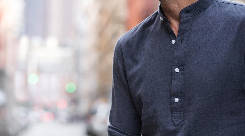 Custom Popover Shirts Proper Cloth