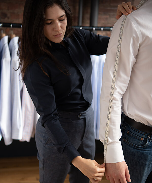 Proper Cloth In Person Fitting, Showroom Experience
