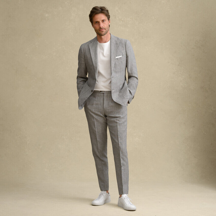 Look: The Linen and Wool Suit