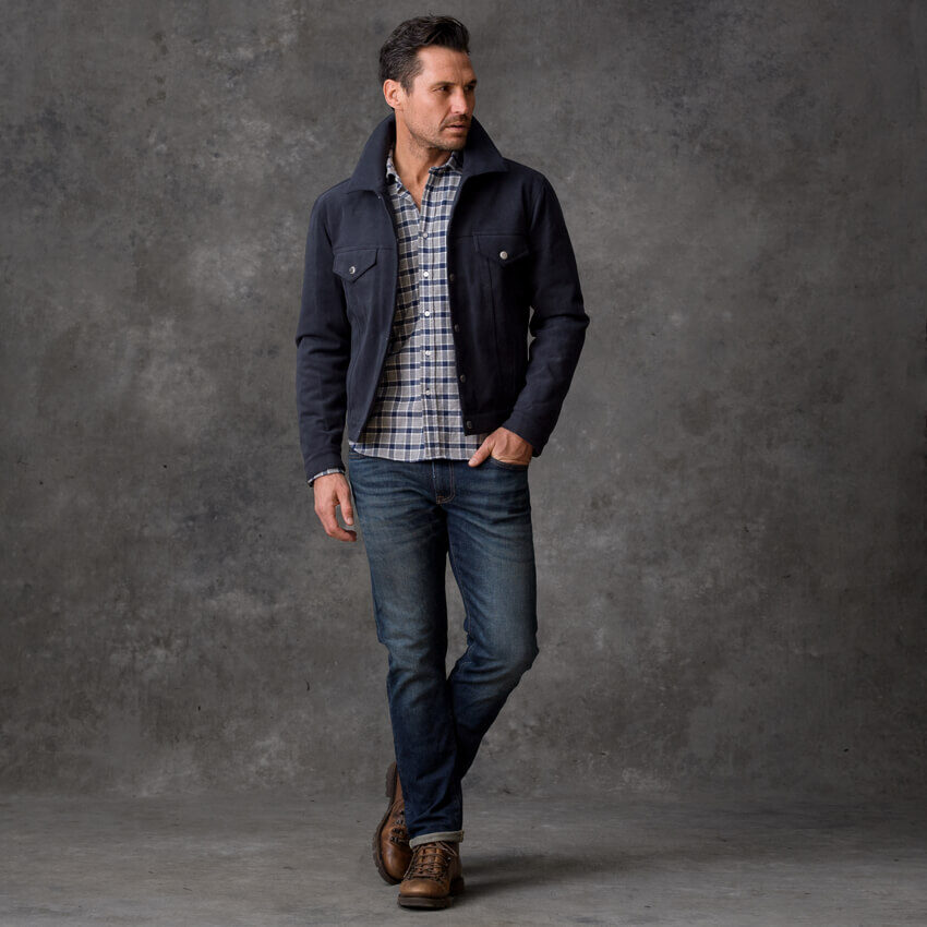 Look: The Classic Plaid Flannel