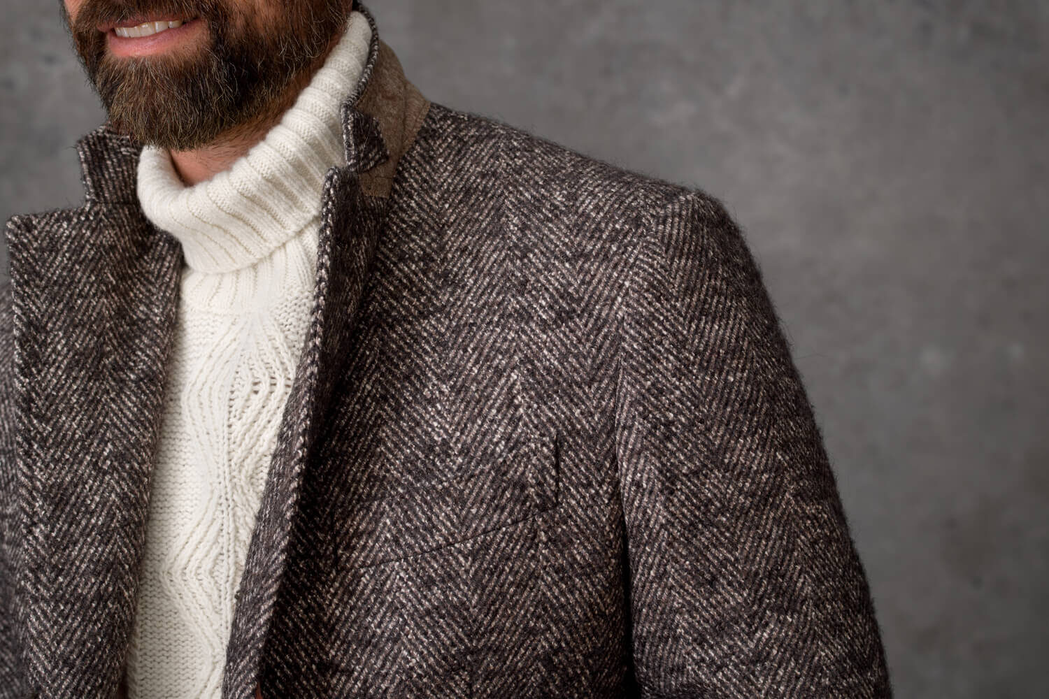 Look: The Chunky Knit Zoomed