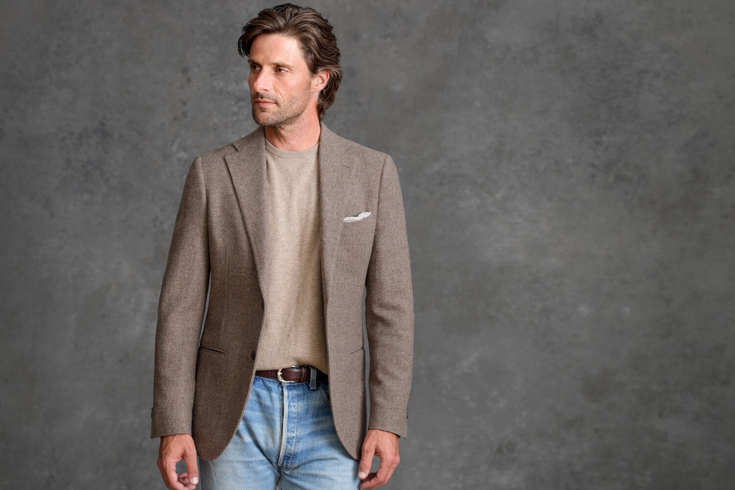 Look: Casual Cashmere
