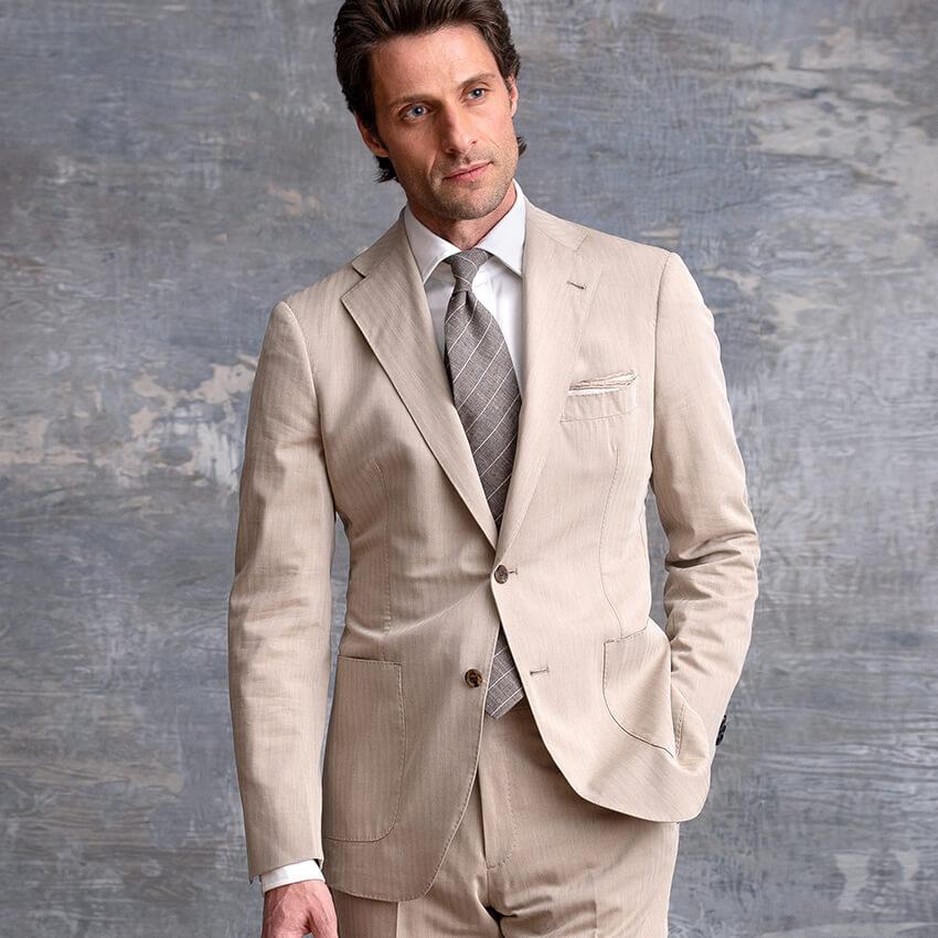 The Solaro Suit On-Figure Look