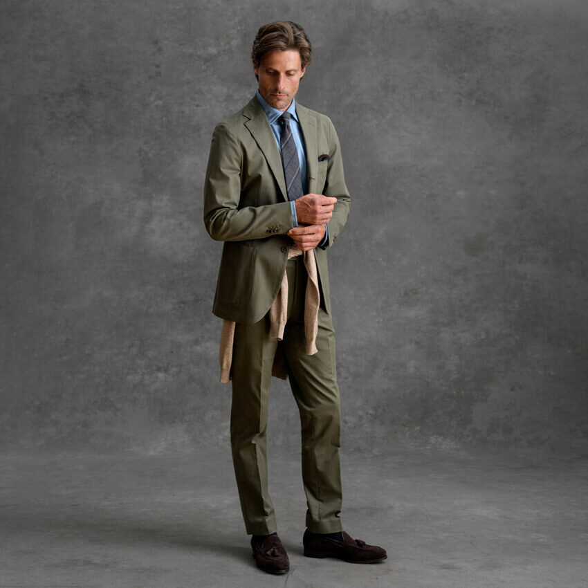 Look: The Casual Suit