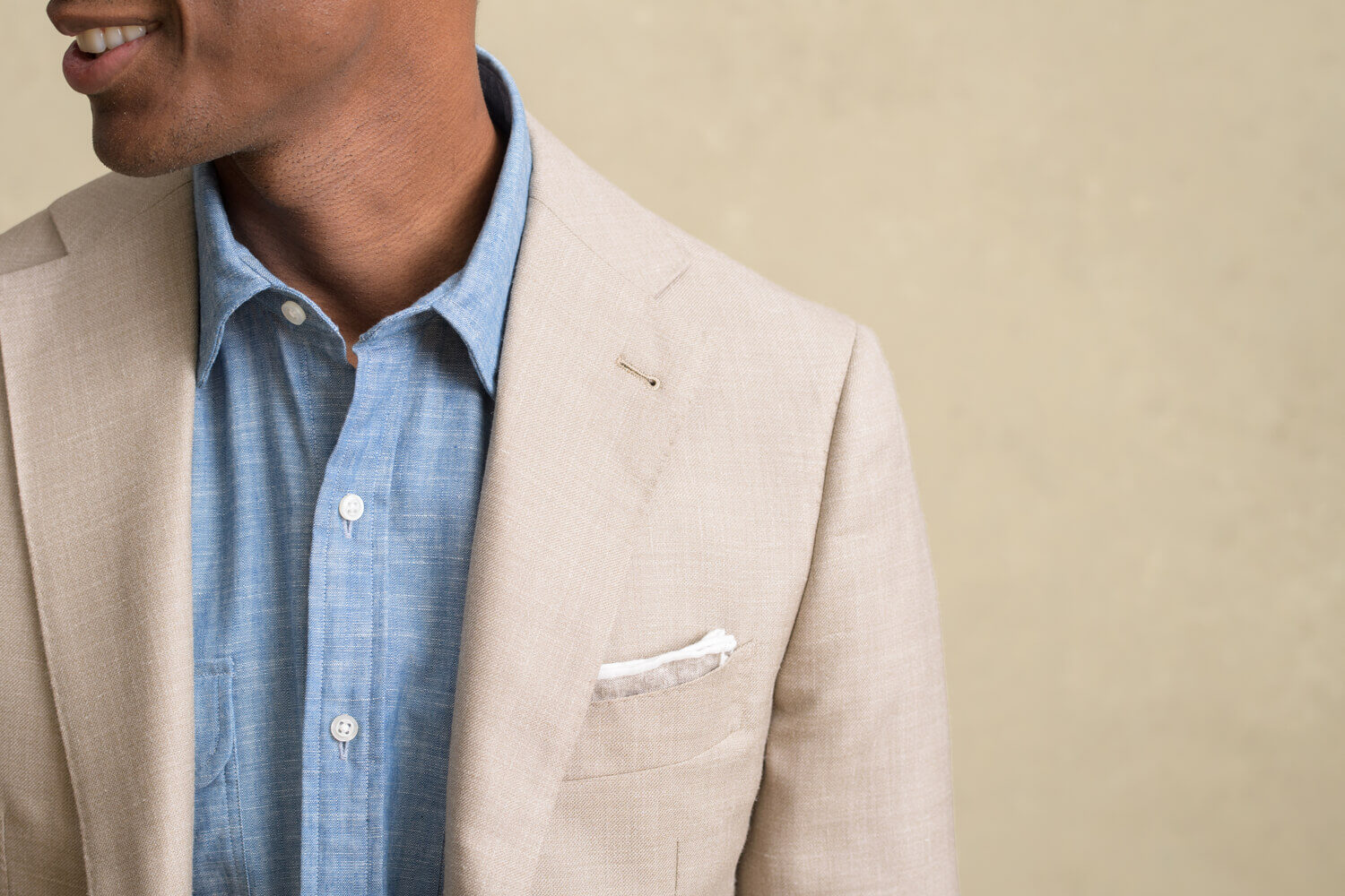 Look: Chambray Chameleon Zoomed