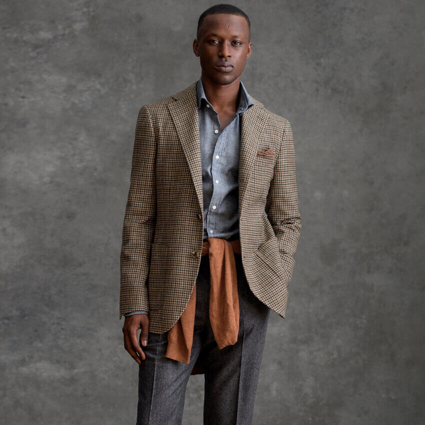 The Olive Trouser On-Figure Look