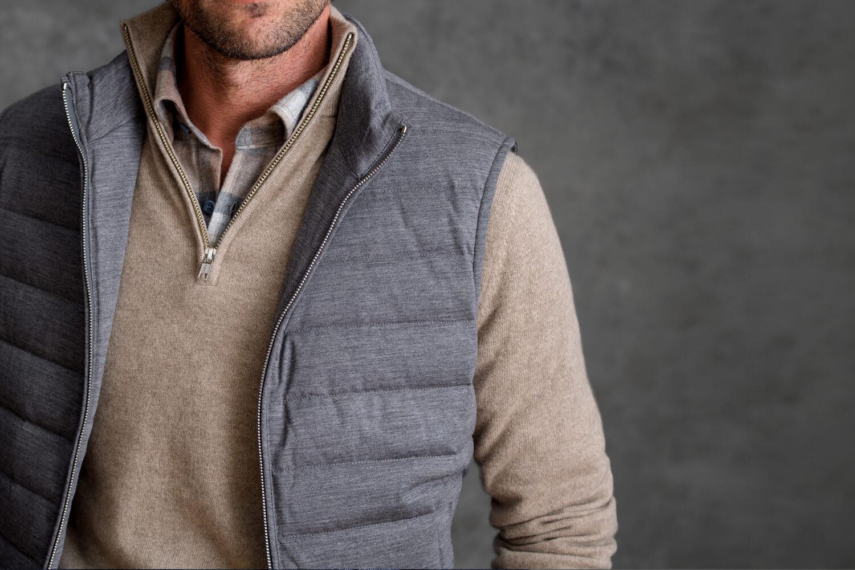Look: The Zip Vest Zoomed