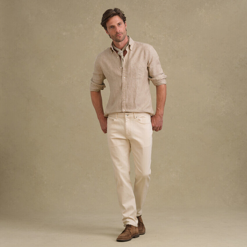 Look: The Organic Denim Pant