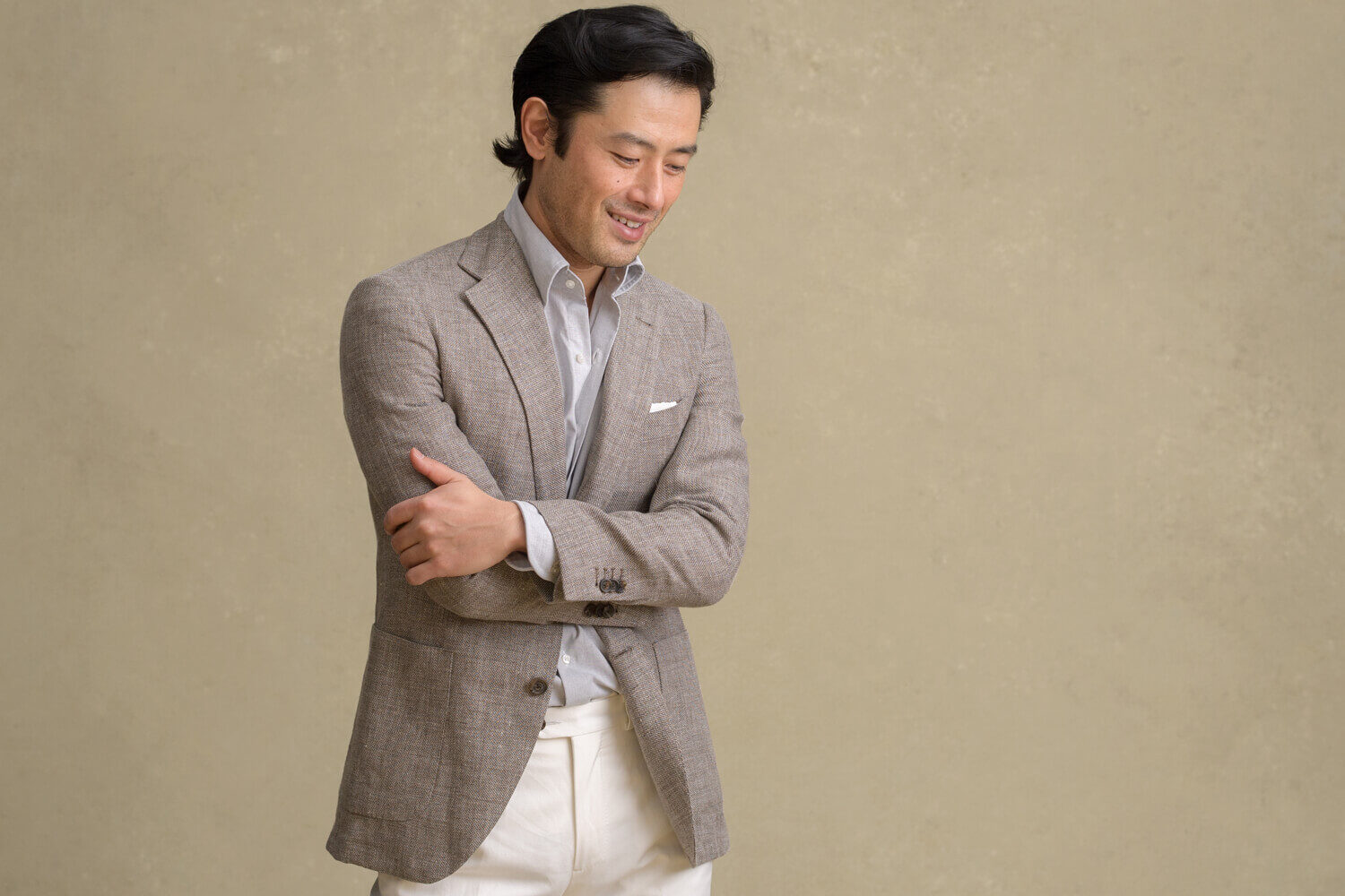 Look: Sustainable Chambray
