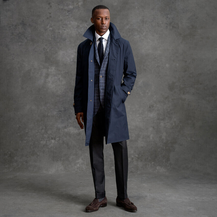 Look: The Raincoat