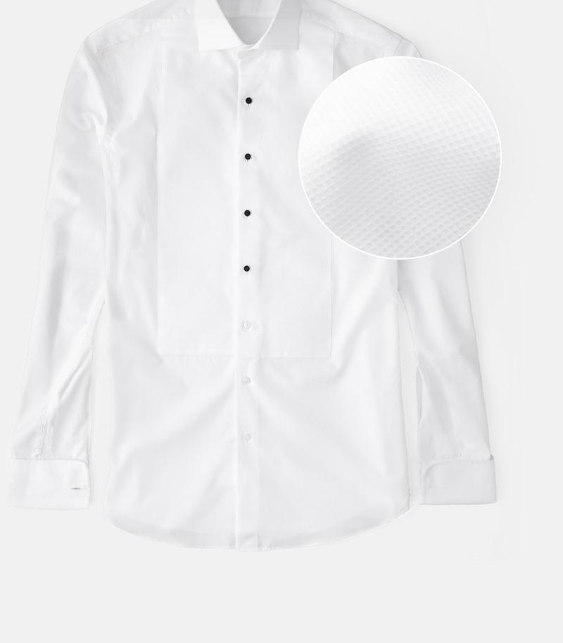 Tuxedo Shirt Pique