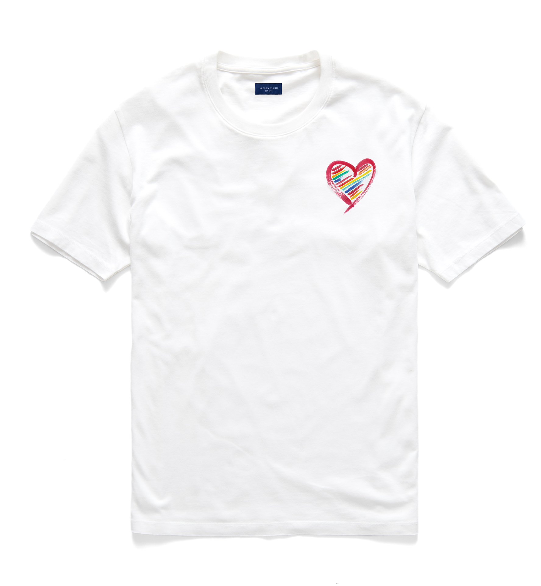 Zoom Image of Lightweight Cotton Pride Graphic T-Shirt