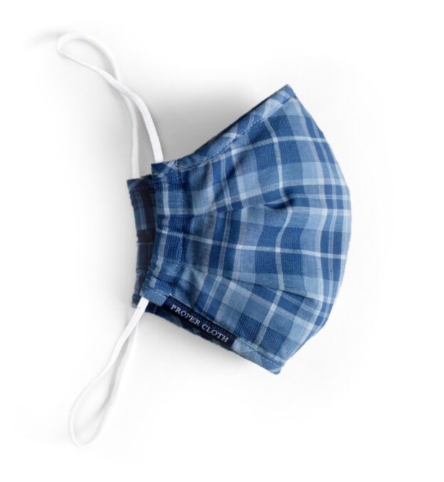 Larger Zoom Image of Blue Plaid