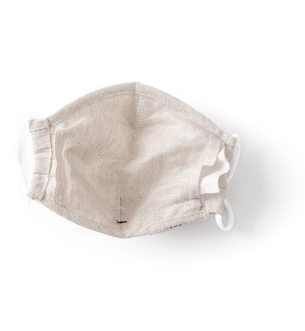 Larger Zoom Image of The Everyday Mask v1.4E - Beige Linen (Single Mask)