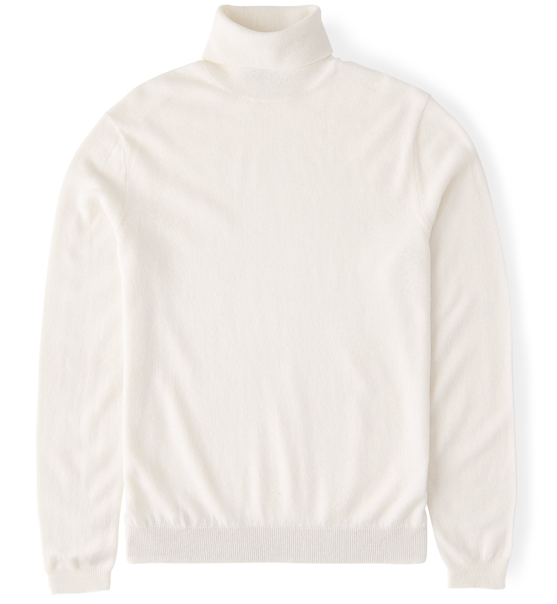 Zoom Image of Off White Cashmere Turtleneck