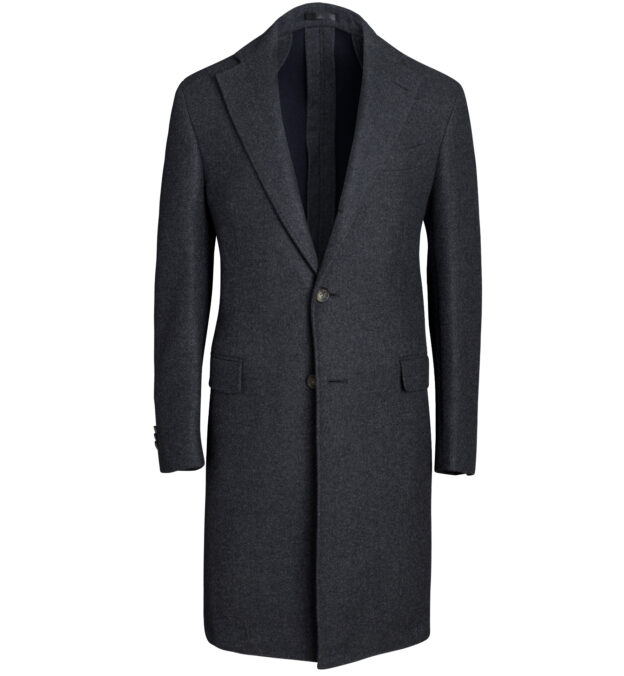 Bowery Charcoal Wool Unstructured Coat